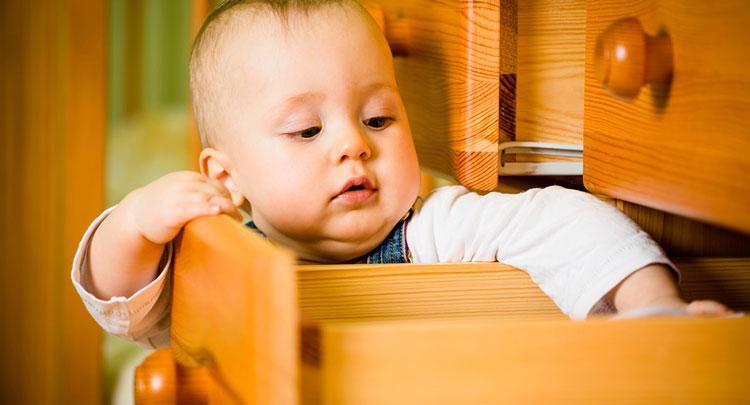 خانه امن برای کودک زیر 2 سال