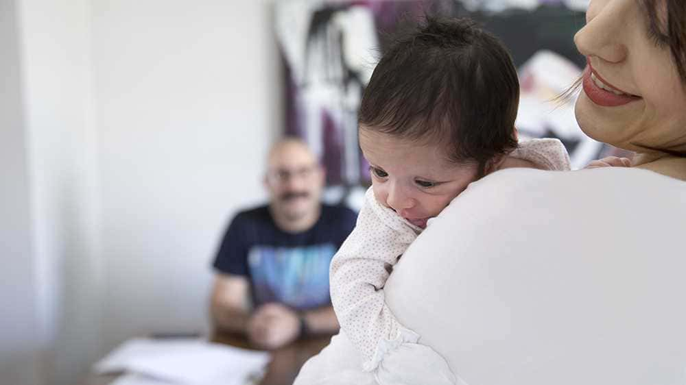 همراهی-پدر-پس-زایمان